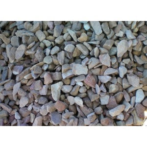 8 Ton Crushed Gravel 6/9MM (Brown)