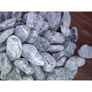 1 Ton Black Tumbled Pebbles (50 x 20Kg bags)