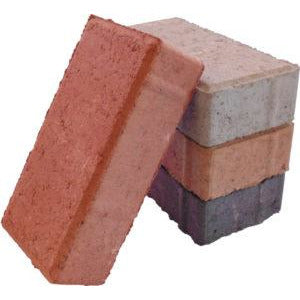Bevel Bond Paver Brick 50MM - Terra Cotta (Per 1000 Bricks)