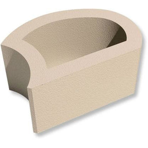 Terraforce Smooth Face Retaining Block - Sandstone (L12)