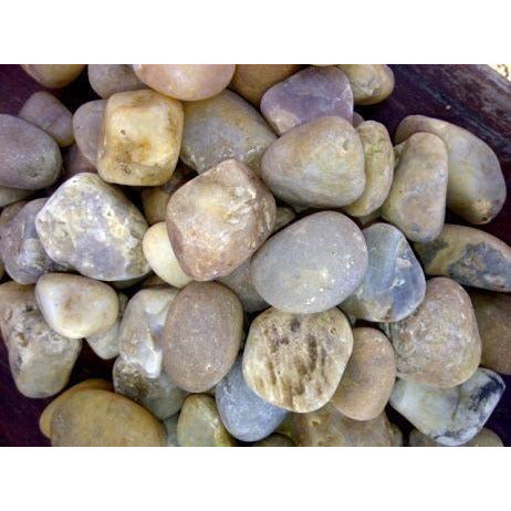 1 Ton Multi White Pebbles (50 x 20Kg bags)