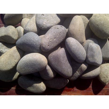 1 Ton Olive Green Pebbles (50 x 20Kg bags)
