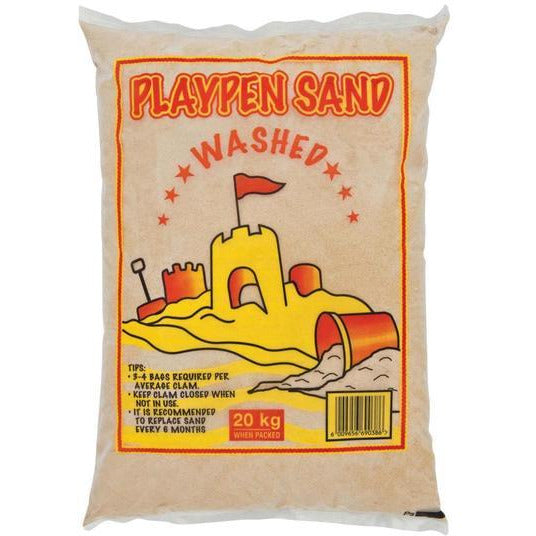 20KG x 50 Bags  Children Play Sand Washed