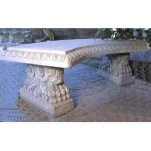 Concrete Bench - Fancourt Curved