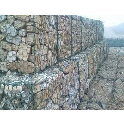 Hexagonal Woven Mesh Gabion Baskets 1m x 1m x 1m