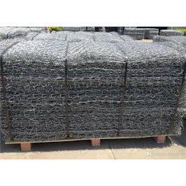 Hexagonal Woven Mesh Gabion Baskets 1m x 1m x 0.5m