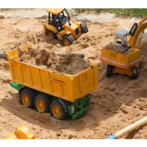 5 Ton Washed Play Pen Silica Sand