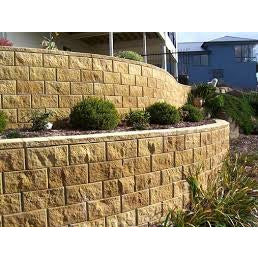 Terraforce Rock Face Retaining Block - Sandstone (R36)