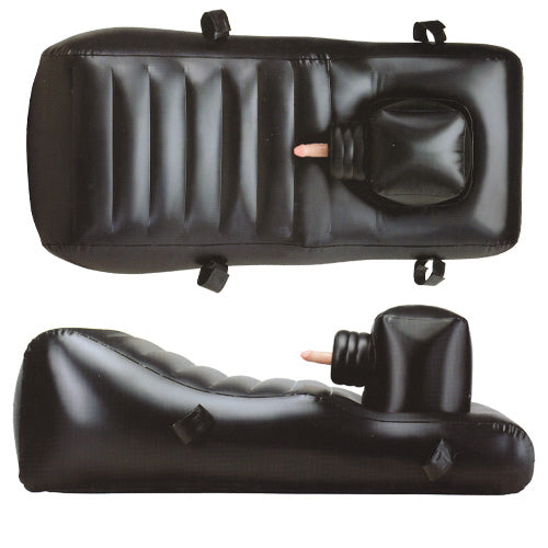 Louisiana Lounger Inflatable Thrusting Vibrating Sex Toy Machine