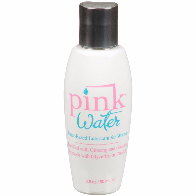 Pink Water Lubricant For Women 2.8 Ounce Water-Based