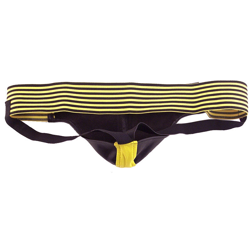 Rouge Garments Jock Black And Yellow