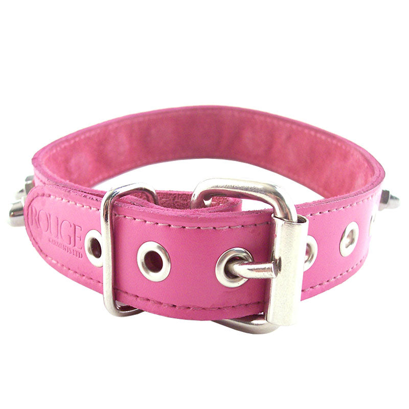 Rouge Garments Pink Nut Collar