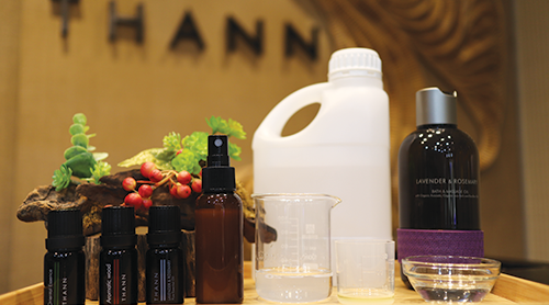 Thann Hand Sanitizer Workshop