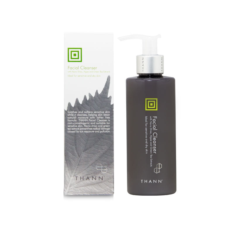 Shiso Facial Cleanser Nano 200ml - THANN Singapore