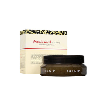 Aromatic Wood Aromatherapy Salt Scrub 230g - THANN Singapore