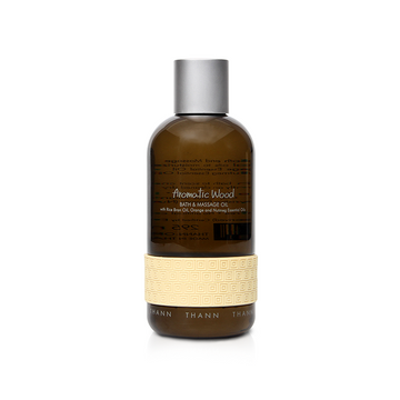 Aromatic Wood Bath & Massage Oil 295ml - THANN Singapore