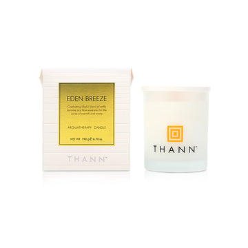 Eden Breeze Aromatherapy Candle 190g - THANN Singapore