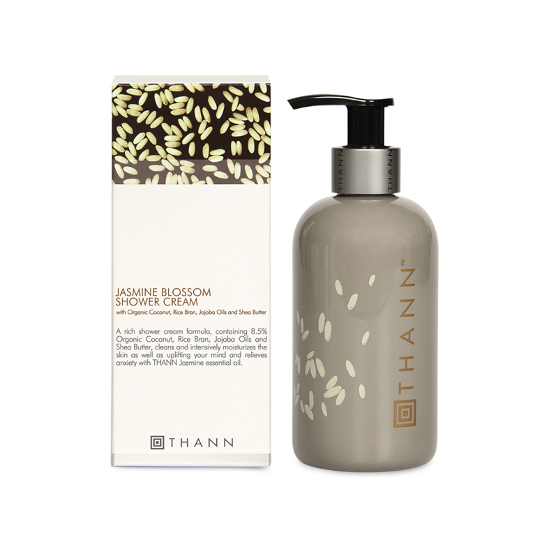 Jasmine Blossom Shower Cream 250ml - THANN Singapore