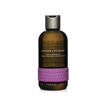 Lavender & Rosemary Bath & Massage Oil 295ml - THANN Singapore