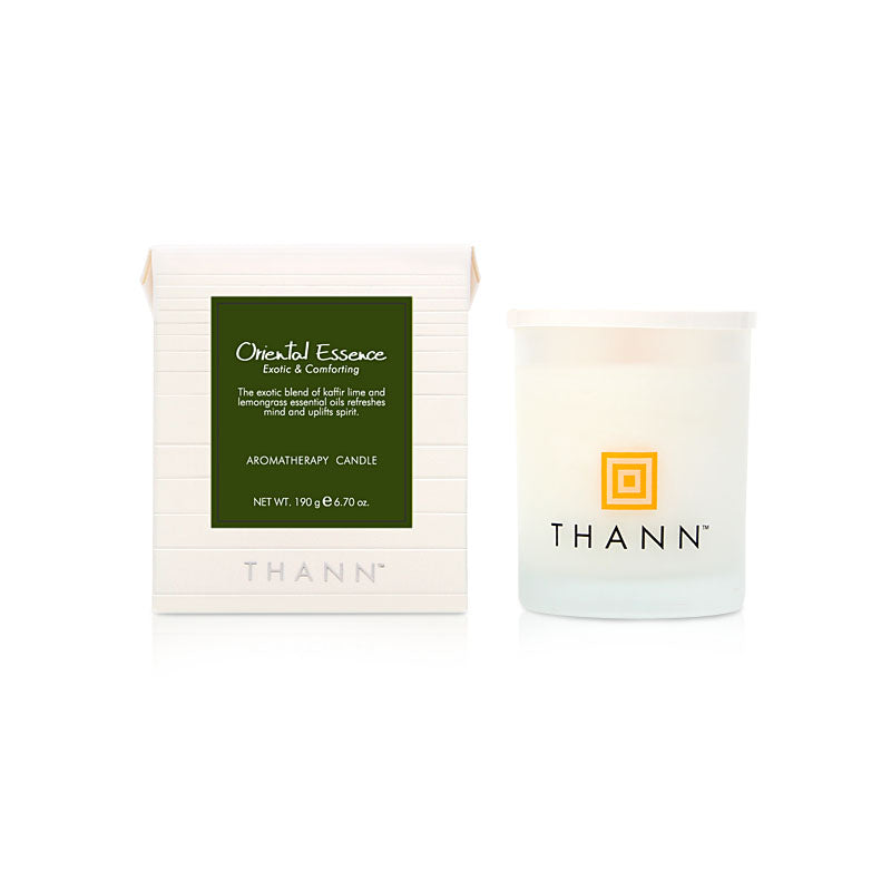 Oriental Essence Aromatherapy Candle 190g - THANN Singapore