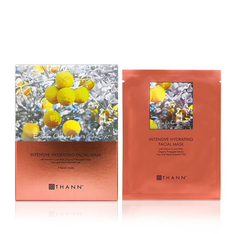 Eastern Orchard Intensive Hydrating Facial Mask Set( 4pcs) - THANN Singapore