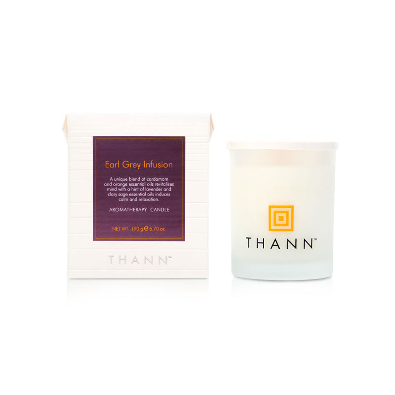 Earl Grey Aromatherapy Candle 190g - THANN Singapore