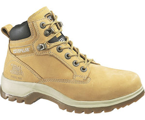 Ladies Caterpillar Kitson Safety Boot Womens CAT Lace Up Ankle Work Combat  Boots ecc683d918