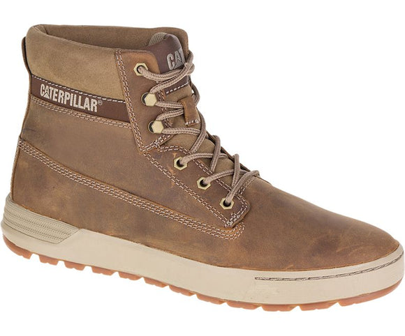 c9df0c49f7ce Mens Caterpillar Boots Casual Leather Lace up Comfort High Shoes