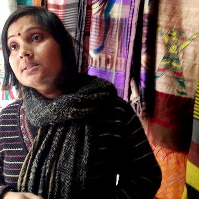 Know Your Weaver - Anjana Devi, Manjusha Artist