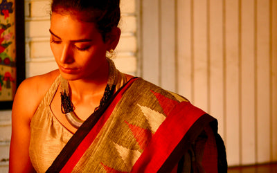 The Imperfect Handloom Saree