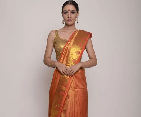https://www.indianartizans.com/collections/kanjivaram-sarees/products/orange-gold-kanjivaram-saree
