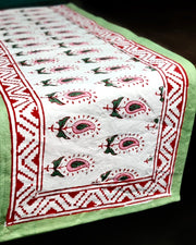 Block Printed Table Runner
