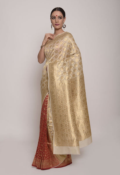 https://www.indianartizans.com/collections/banarasi-sarees/products/red-and-off-white-banarasi-silk-saree