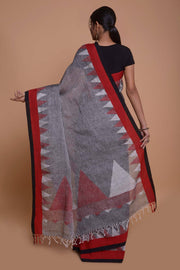 Shop online for Grey Linen Saree | Indian Artizans
