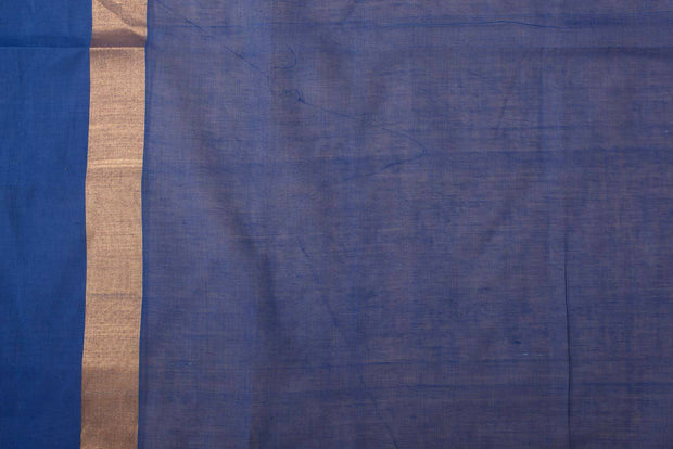 Shop online for  Blue Coimbatore cotton checks saree  | Indian Artizans
