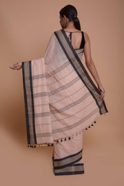 Shop online for Baby Pink Mulmul Saree | Indian Artizans