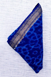 Indian Artizans - Blue Maheshwari Blouse Piece