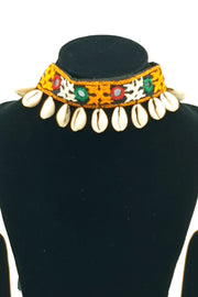 Indian Artizans - Black Traditional Handmade Bhuj Choker Jewellery Set