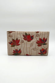 Indian Artizans - Beige Embroidery Clutch