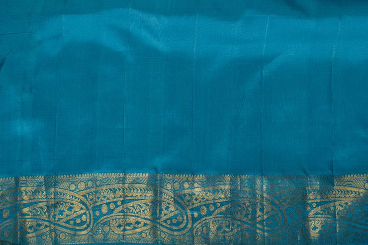 Shop Online for ferozi Kanjeevaram Silk Saree | Indian Artizans