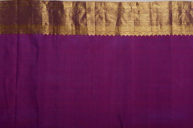 Shop Online for Purple Kanjeevaram Silk Saree | Indian Artizans