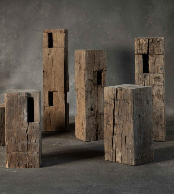 17th Century Architectural Beam Pedestals