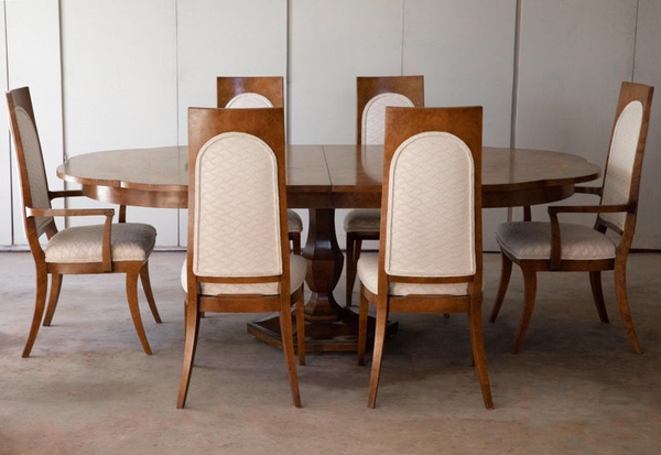 Mastercraft Burl Wood (Dining Set)