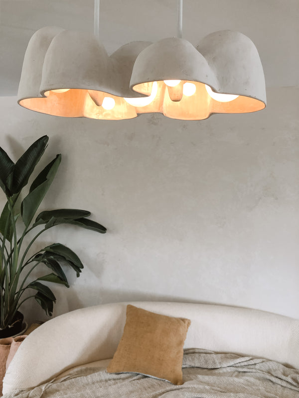 Sculptural Light Fixture