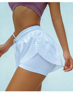 Two-in-One Yoga Shorts