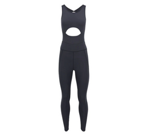 Cut Out Front Yoga Jumpsuit