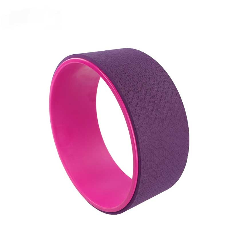 Double Color TPE Yoga Wheel