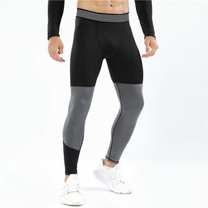 Patchwork Yoga Pants For Men