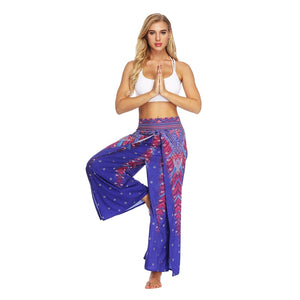 High Split Loose Yoga Pants