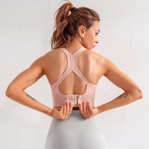 push up yoga bra